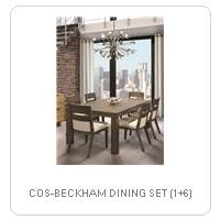 COS-BECKHAM DINING SET (1+6)
